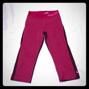 Women's Exercise Capris Pants
